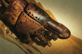 This prosthetic toe dates back to between 950 and 710 B.C.