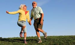 Still want to be this spry in your sunset years? Protect your joints. See more pictures of healthy aging.