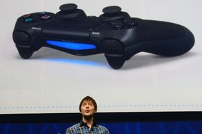 While Sony didn't show the console itself at its February 2013 press conference, the company did show off the new DualShock 4 controller.