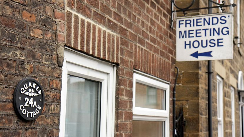 Friends' Meeting House sign