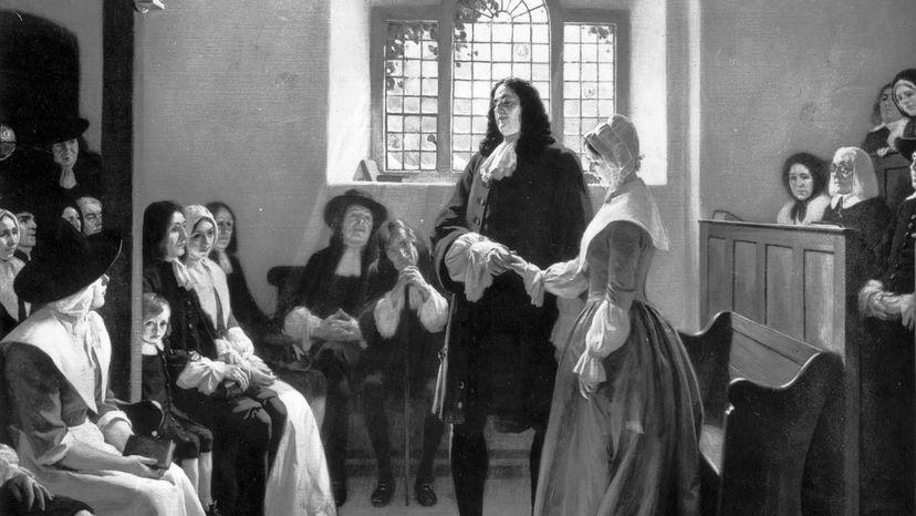Quaker wedding, William Penn
