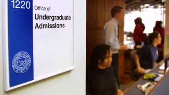 How College Admission Works
