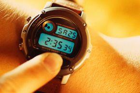 How do quartz and liquid crystal make your watch tick?