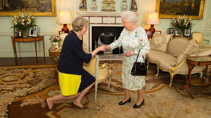 Queen, Theresa May