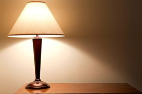 It looks like just a lamp but it could have a multitude of uses.