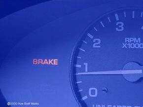 What should you do if you see this warning light? See more brake pictures.