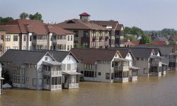 This was the scene in May 2011 in Memphis, Tenn. Make sure your townhome is properly insured.