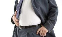 Pseudomyxoma Peritonei causes stomach pain and enlarged abdomen.