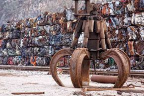 Scrap yards and metal recyclers will pay by the pound for new, used or extremely used items made from materials like steel, iron, aluminum, brass and especially, copper.