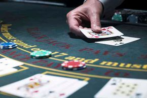 Blackjack is one the casino games you actually have an even chance of winning.