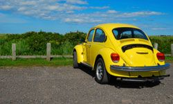 Yellow Punch Buggy!