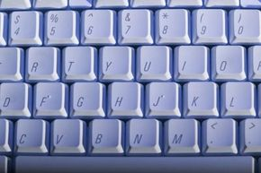 The QWERTY layout is based on the keyboard design for the original typewriter.