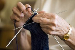 Ah, knitting – a quiet, calming activity that can be simple and rewarding. So what's the fuss about?