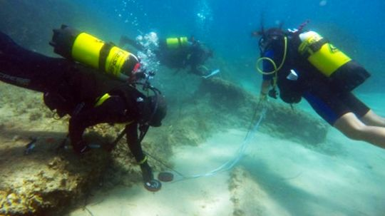 Roman Ruins Discovered Underwater in Tunisia