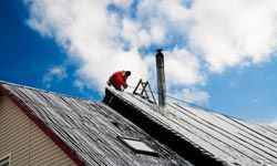 Fixing or replacing that roof in winter could save you 10 percent over summer.