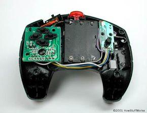 Inside a Rumble Robot controller