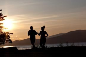 Running with your significant other can be a joy or a challenging journey.