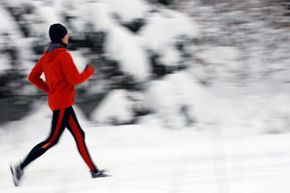 Wear layers and stay hydrated for cold weather running.