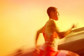 The mental toughness you gain from running with a parachute may help you on race day.