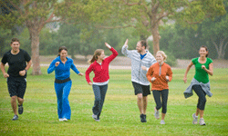 Exercise can help your stress and cholesterol levels.