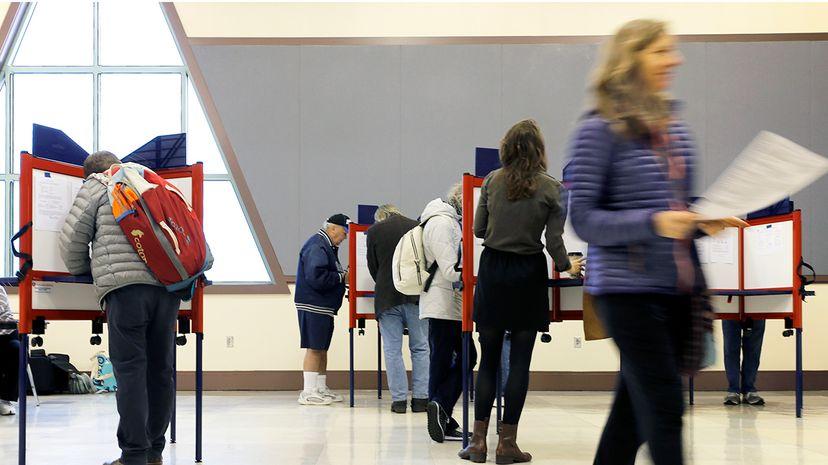 U.S. voting poll