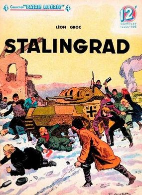 This French magazine illustration of the fighting at Stalingrad signified the importance of that battle.