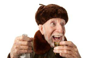 Russians love their vodka.