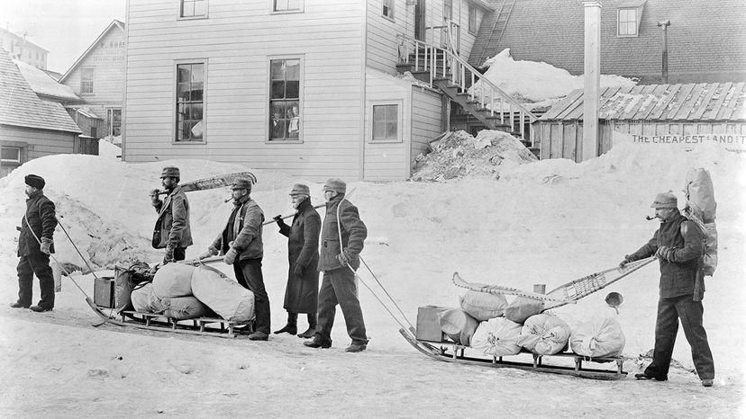 gold prospectors in Alaska