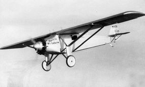 Charles Lindbergh's Ryan NYP, which he called the  Spirit of St. Louis, had no windscreen, so visibility directly forward was impossible. If the young pilot wanted a view of what was ahead of him, he had to crane his head from the side window.