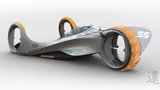 What will race cars look like in 2025?