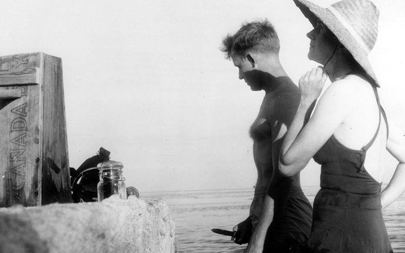 Rachel Carson and Robert Hines