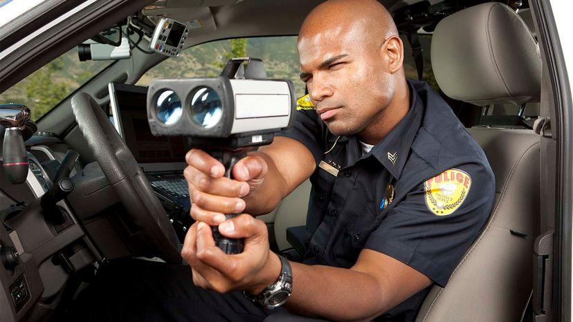 speed trap, cop