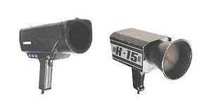 Two conventional radar guns