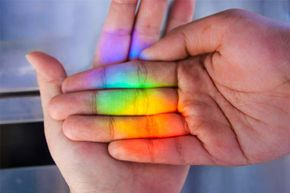 Do rainbows only have seven colors? No -- more like a million!
