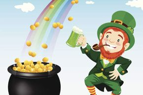 There might be a pot of gold at the end of the rainbow. The trouble is, you can never get to the end.