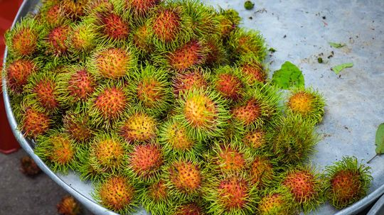 Rambutan Is the 'Hairier' Cousin of the Lychee Fruit