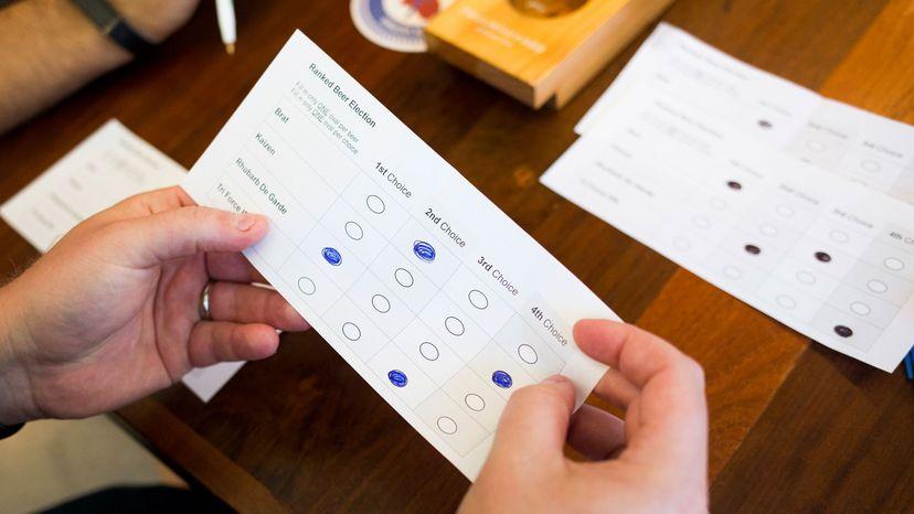 Kyle Bailey, Maine, ranked choice voting
