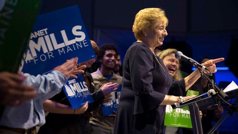 Maine governor Janet Mills