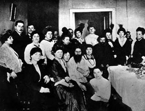 Rasputin -- ladies' man. The mystic's combination of sexuality and religion had a way with Russian women.