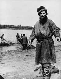 Rasputin, the peasant, in 1890.