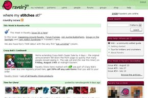 Ravelry brings together yarn artists and resources on a single social networking Web site. See more pictures of popular web sites.