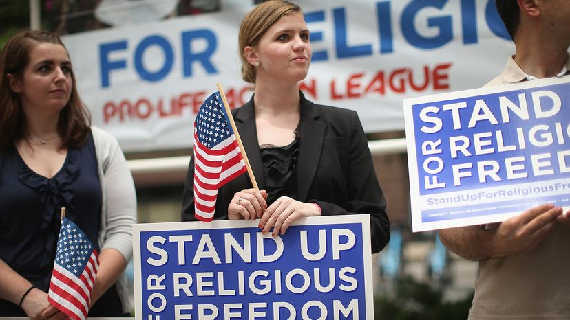 religious freedom supporters