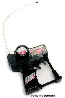 A typical RC car transmitter