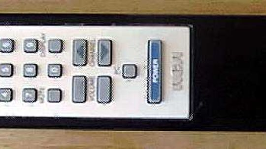 Inside a TV Remote Control