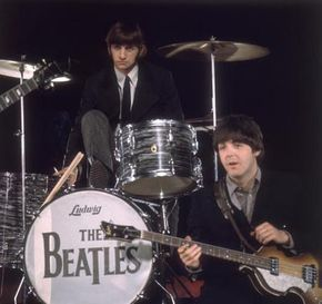 In the 1960s, technology made it easier to mix instruments, allowing the Beatles to record.