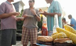 Pull out the grill for a more social meal.