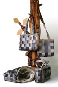 Harveys' Treecycle bags are made from recycled seatbelts.