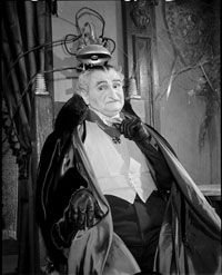 """The popular conception of Dracula runs the gamut from horrific vampire to comic relief (like Grandpa on the TV show """"The Munsters"""")."""