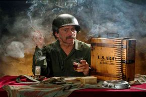 Soldiers now had a patriotic reason to smoke thanks to experiments the U.S. Army carried out on synthetic pot.