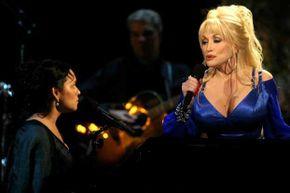Dolly Parton and Norah Jones